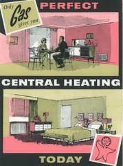 1960 Gas Council Promotional Brochure. Central Heating (growlerthecat) Tags: gasindustry gasheating centralheating mrtherm gascouncil