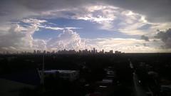 Heavens Over Miami (MerperC) Tags: heavens miami miamifl florida fl city skyline clouds skies urban