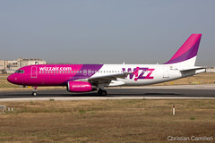 Wizz Air Airbus A320-232 'HA-LPN' LMML - 10.06.2019 (Chris_Camille) Tags: spottinglog registration planespotting spotting maltairport airplane aircraft plane sky fly takeoff airport lmml mla aviationgeek avgeek aviation canon5d canon livery myphoto myphotography