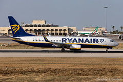 Ryanair Boeing 737-8AS 'EI-DCN' LMML - 10.06.2019 (Chris_Camille) Tags: spottinglog registration planespotting spotting maltairport airplane aircraft plane sky fly takeoff airport lmml mla aviationgeek avgeek aviation canon5d canon livery myphoto myphotography