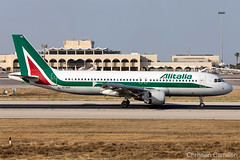Alitalia Airbus A320-216 'EI-DTK' LMML - 10.06.2019 (Chris_Camille) Tags: spottinglog registration planespotting spotting maltairport airplane aircraft plane sky fly takeoff airport lmml mla aviationgeek avgeek aviation canon5d canon livery myphoto myphotography