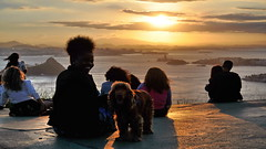 Parque da Cidade, Niterói - Rio de Janeiro - Brasil (lucianoElly) Tags: parque da cidade niteroi nikity sunset por do sol rio de janeiro nikon d5000 panoramas panoramica landscape viewpoint luciano elly cici gomes costa lucianoelly