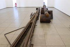 Strassenbahnhaltestelle. A Monument to the Future (GabianSpirit) Tags: allemagne berlin artcontemporain musée