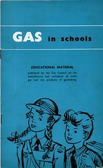 Gas in Schools. Gas Council. 1956. (growlerthecat) Tags: gascouncil gasindustry