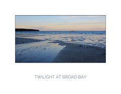 Lewis Twilight (Stan Farrow Photography) Tags: lewis stornoway broad bay sunset twilight beach ripples