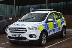 BX68 FSY (S11 AUN) Tags: leicestershire police ford kuga 4x4 incident response rural panda car vehicle irv 999 emergency bx68fsy