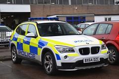 BX64 DZC (S11 AUN) Tags: leicestershire police bmw x1 4x4 incident response rural panda car vehicle irv 999 emergency bx64dzc