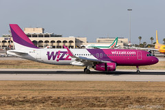 Wizz Air Airbus A320-232 'HA-LYL' LMML - 10.06.2019 (Chris_Camille) Tags: spottinglog registration planespotting spotting maltairport airplane aircraft plane sky fly takeoff airport lmml mla aviationgeek avgeek aviation canon5d canon livery myphoto myphotography