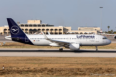 Lufthansa Airbus A320-214 'D-AWIC' LMML - 10.06.2019 (Chris_Camille) Tags: spottinglog registration planespotting spotting maltairport airplane aircraft plane sky fly takeoff airport lmml mla aviationgeek avgeek aviation canon5d canon livery myphoto myphotography