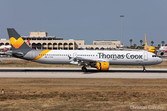 Thomas Cook Airlines Airbus A321-211 'G-TCDA' LMML - 10.06.2019 (Chris_Camille) Tags: spottinglog registration planespotting spotting maltairport airplane aircraft plane sky fly takeoff airport lmml mla aviationgeek avgeek aviation canon5d canon livery myphoto myphotography