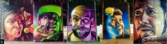 Five Faces by Smug (Ibrahim D Photography) Tags: fivefaces smug smugone streetart streetartist mural urbanart urbanglasgow glasgowstreetart broomielaw glasgow scotland scottishstreetart ukstreetart aerosolart photorealistic