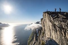 Segla (asbjørnhbogstad) Tags: senja nature mountain peak summer june sea hike