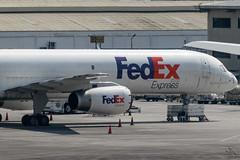 FedEx Express (FedEx) - Boeing 757-23A(SF) / N919FD @ Manila (Miguel Cenon) Tags: fedex federalexpress fedexair fedex757 boeing boeing757 b757 b752 airplanespotting airplane appgroup apegroup airport philippines planespotting ppsg naia nikon d3300 manila rollsroyce rb211 n919fd rpll aircraft aviation wings wing window wheel narrowbody twinengine cargo cargoplane cargojet