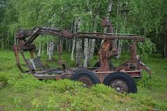 Tractor Wagon (Flash 86) Tags: tractor wagon sweden sverige