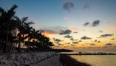 Coco Plum Beach Sunrise (subrec) Tags: sunrise sunset skyporn sky florida floridasunset floridakeys pentaxk50 pentax pentaxart