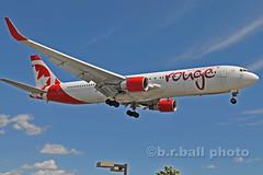BRB_7906cesn c (b.r.ball) Tags: brball yyz torontopearsoninternationalairport malton aviation jets runway23 cfmwp boeing 767333 aircanadarouge ac1907