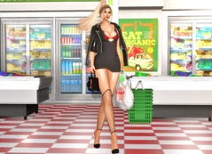 Saturday night (Niki Cole) Tags: sl secondlife nikicole preciousniki blog blogger fashion trends beauty amataria ebento event guccy lelutka maitreya amarabeauty aviglam rama coco junkfood purepoison itgirl theface