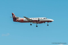 Bearskin Airlines, Fairchild Metro, C-GJVC (Bob from Caledon) Tags: bearskinairlines cgjvc cyyz fairchildswearingermetroliner pearsoninternationalairport torontopearsoninternationalairport aeroplanes aircraft airplanes arrivales arrivals runway23