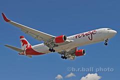 BRB_7860cesn c (b.r.ball) Tags: brball yyz torontopearsoninternationalairport malton aviation jets runway23 cghlu boeing 767333 aircanadarouge ac1931