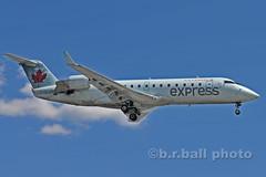 BRB_7836cesn c (b.r.ball) Tags: brball yyz torontopearsoninternationalairport malton aviation jets runway23 cgtja bombardier cl6002b19 aircanadaexpress ac7364