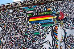 East Side Gallery (GabianSpirit) Tags: allemagne berlin musée streetart