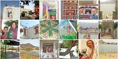 raj mosaic 5 (2) (belight7) Tags: india travel culture rajasthan pushkar temple lake baba sadhu guesthouse birds water art