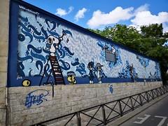 Street art Paris 06/2019 (vm.20100) Tags: streetart graffiti urbanart wallart graffitiart graffitiwall muralpainting streetartphoto streetartphotography streetartist globalart arteurbano artecallejero artederua pintada grafite sprayart aerosol graffitiartist streetartnow artoftheday 落書き 涂鸦 parisstreetart paris france