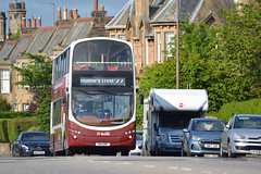 357 (Callum's Buses and Stuff) Tags: gemini gemini2 lothianbuses lothian buses bus b9tl edinburgh edinburghbus madderandwhite volvo madderwhite