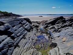 Knockbrex beach, Luce Bay, Dumfries, Scotland, UK (BrianDerbyshire) Tags: scotland uk dumfries knockbrex lucebay olympus sand beach sea sky rockpool