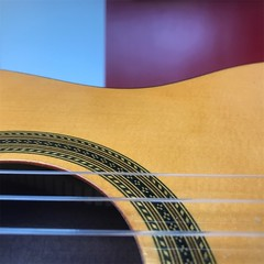 iPhone Photography - Guitar Abstract (Fojo1) Tags: iphonephotography music musical instruments guitars guitar