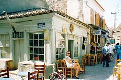 Lesbos - 1992 (John Steam) Tags: lesbos insel island greece griechenland petra friseur hairdresser 1992 juni