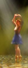 Flickr Friday: LightPainting (Jean-Pierre Bérubé) Tags: ballet lightpainting flickrfriday jeanpierrebérubé jpdu12 dance danse couleur color colors