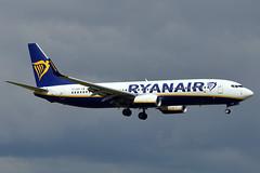 EI-GSH  B737-8ASWL)  Ryanair (n707pm) Tags: eigsh boeing 737 b737 737800 737wl airport airplane aircraft airline eidw dub collinstown ireland 11062019 dublinairport cn44846