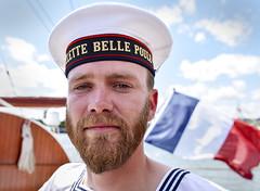 marine Française (fred9210) Tags: marin france goélette bellepoule armada normandie portrait barbe