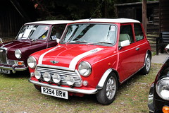 1997 Rover Mini Cooper R294BRW Amberley Museum Mini Day 2019 (davidseall) Tags: 1997 rover mini cooper red car r294brw r294 brw classic original old shape style great british amberley museum day 2019 west sussex uk