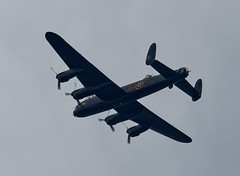 Lancaster bomber. (S.K.1963) Tags: lancaster bomber airplane ww11 fly past sheffield olympus omd em11 mkii 40 150mm 28