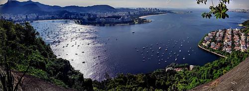 View from Pão de Açúcar (Sugarloaf Mountain), Rio de Janeiro