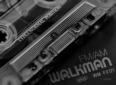 Remember how we listened music when we exercised? (rosaadda) Tags: musicinbw smileonsaturday