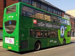 Konectbus 630 is on Castle Meadow while on route 502. - SN65 OAL - 1st April 2019 (Aaron Rhys Knight) Tags: konectbus 630 sn65oal 2019 castlemeadow norwich norfolk goeast goahead alexanderdennis enviro400