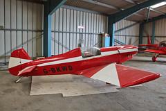 G-BKWD Taylor JT-2 Titch Sturgate  EGCS Fly In 02-06-19 (PlanecrazyUK) Tags: gbkwd taylorjt2titch sturgate flyin 020619 egcs