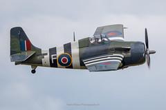 Royal Navy Grumman FM-2 Wildcat JV579 (Mark_Aviation) Tags: nicknamed thatoldthing 05062019 royal navy grumman fm2 wildcat jv579 iwm duxford egsu daks over normandy ww2 wwii aircraft