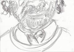 me in may 23_may_3 (raumoberbayern) Tags: sketchbook sketch skizzenbuch robbbilder graphit graphite self selfportrait may mai