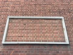 Framing the wall (Panda Mery) Tags: bricks dalston hackney london street uk wall antiunilost