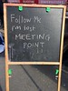 Follow me I'm lost - Meeting point (Panda Mery) Tags: dalston hackney london parklet signs street uk antiunilost