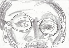 me in may 23_may_1 (raumoberbayern) Tags: sketchbook sketch skizzenbuch robbbilder graphit graphite self selfportrait may mai