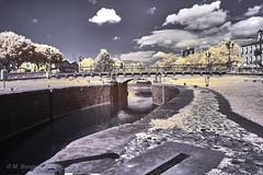 Canal du Midi, Carcassonne (markbangert) Tags: canal midi carcassonne france infrared infrarot infrarouge fuji xt1 700nm