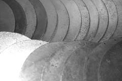 Curves. (Yesteryear-Automotive) Tags: curves macromondays metalwashers