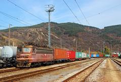 42 184 With Containers III (Krali Mirko) Tags: bdz tp cargo freight container train electric locomotive skoda 46e4 dupnitsa railway transport бдж влак локомотив дупница българия железница