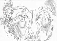 me in may 23_may_2_morgens_wird_es_langsam_besser (raumoberbayern) Tags: sketchbook sketch skizzenbuch robbbilder graphit graphite self selfportrait may mai