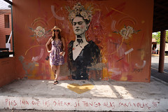 Deya with Frida Kahlo in Zihuatanejo (nan palmero) Tags: mexico guerrero travel sony fullframe zihuatanejo zihua visitmexico sonyalpha sonya7riii